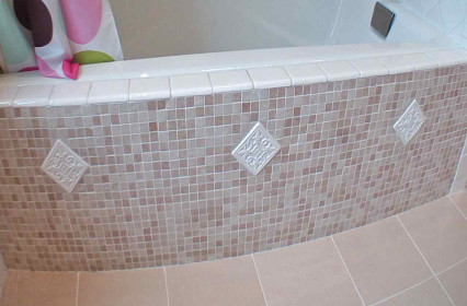 New Tub & Custom Tile